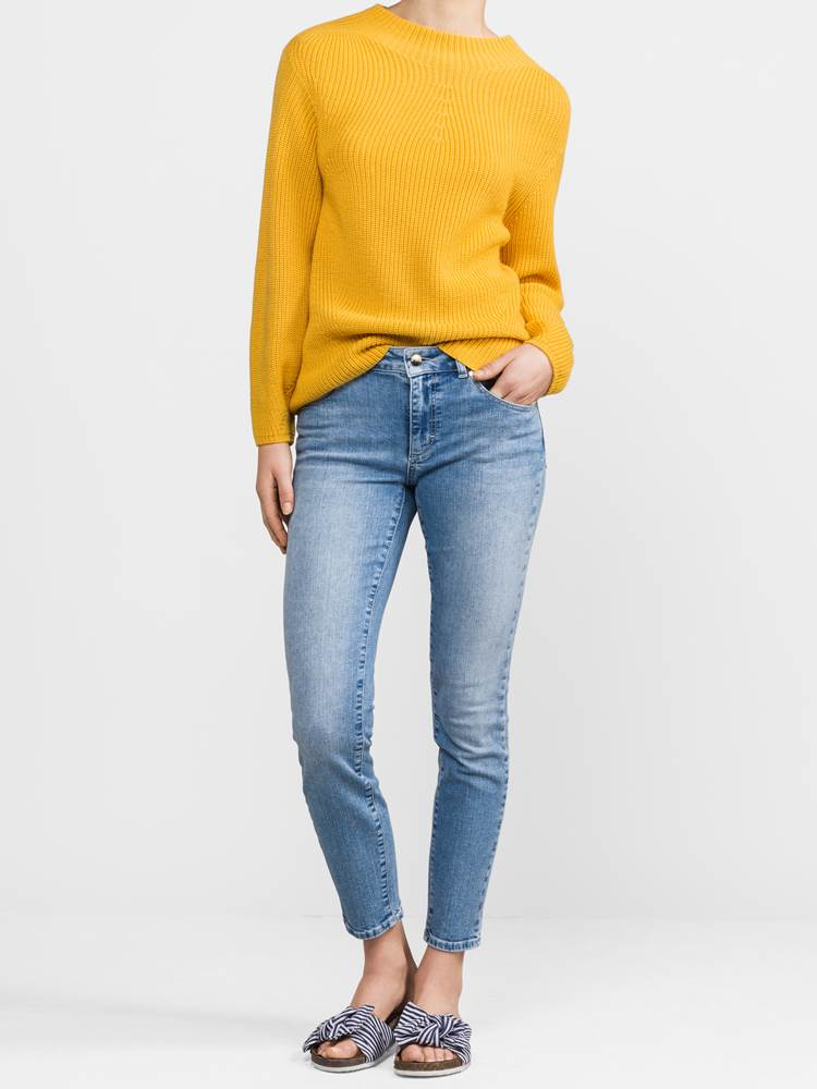 Sabine Cropped Jeans 7236886_DAF-JEANPAULFEMME-S19-Modell-front_83389.jpg_Front||Front