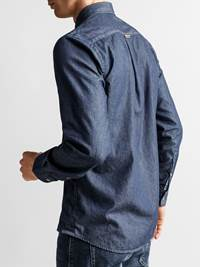 Buffalo Indigo Skjorte - Regular Fit 7235182_JP52_BUFFALO BD INDIGO SHIRT_BACK_M_EGS_Buffalo Indigo Skjorte EGS_Buffalo Indigo Skjorte - Regular Fit EGS.jpg_
