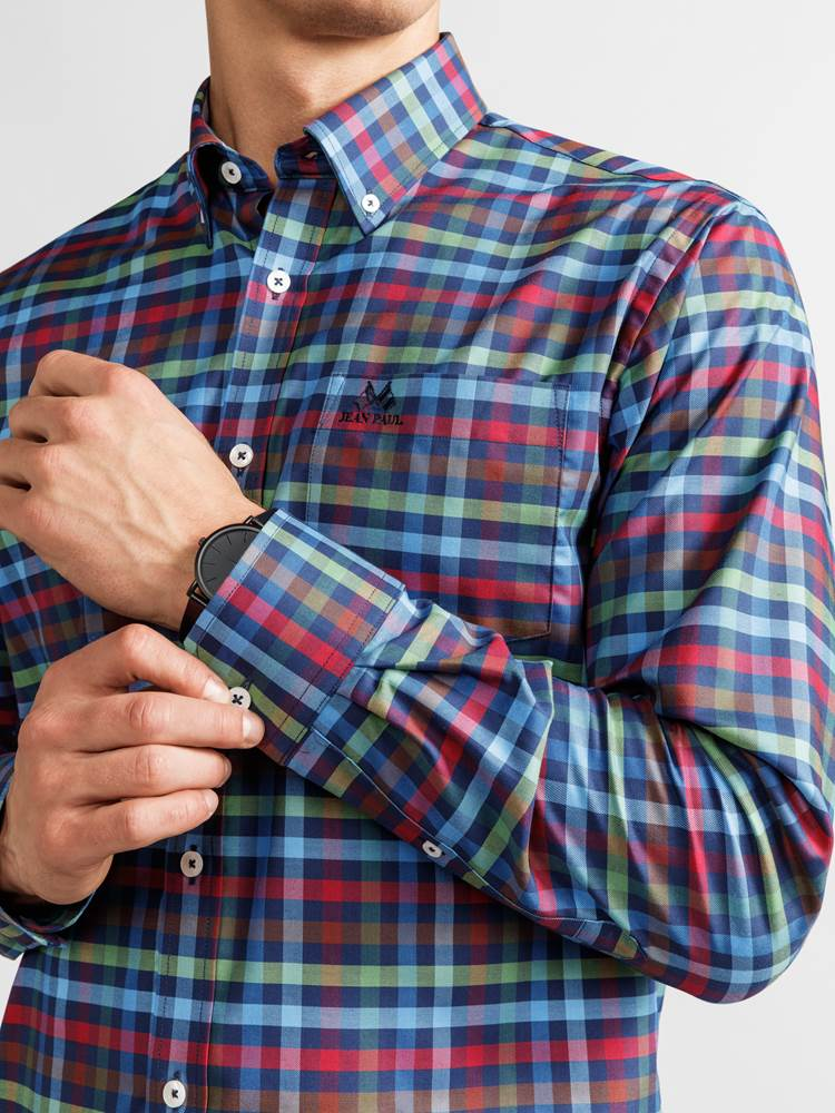 Fisher Skjorte - Classic Fit 7235737_JEAN PAUL_FISHER SHIRT_DETAIL_L_EGG_Fisher Skjorte EGG_Fisher Skjorte - Classic Fit EGG.jpg_