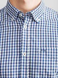 Rutet Twillskjorte  7232163_JP52_FINE TWILL CHECK BD SHIRT_DETAIL_EGG_L_Rutet Twillskjorte  EGG.jpg_Right||Right