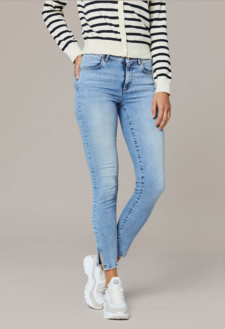 Sabine Cropped Jeans