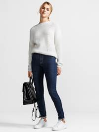 Billy Strikkegenser 7236622_JEAN PAUL_BILLY KNIT_FRONT_S_O79_Billy Strikkegenser O79.jpg_Front||Front
