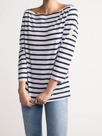 Sailor Stripe Topp 7237778_JEAN PAUL_SAILOR STRIPE TOP_FRONT1_S_EM6_Sailor Stripe Topp EM6.jpg_