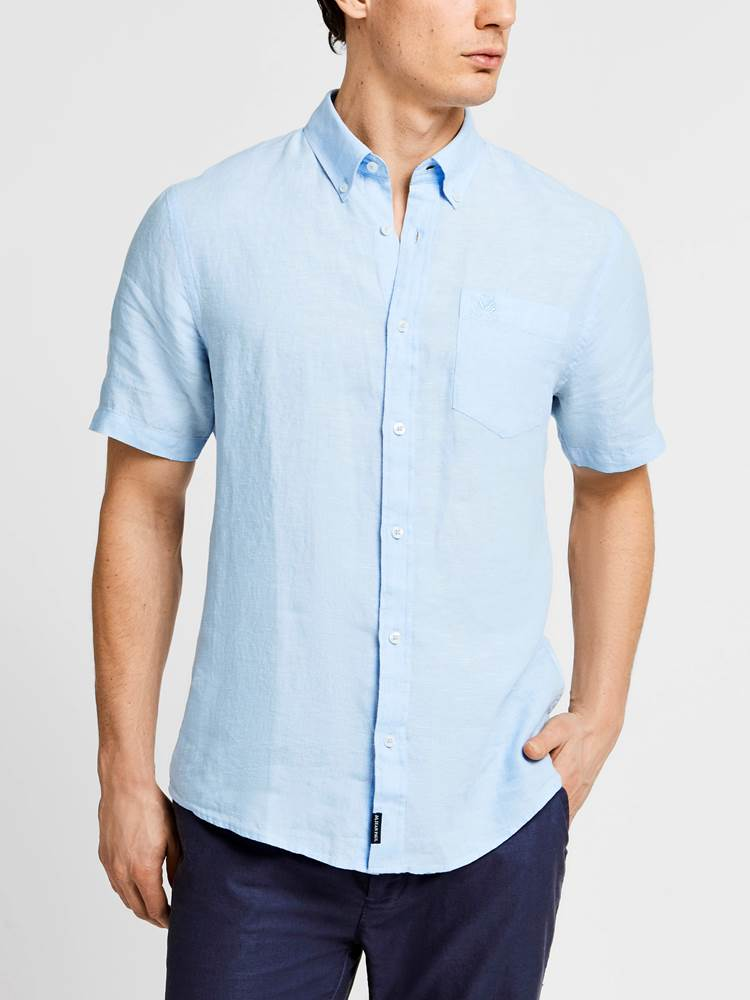 Dillon Linskjorte - Regular Fit 7237904_JEAN PAUL_DILLON LINEN SHIRT_FRONT_L_EMF_Dillon Linskjorte - Regular Fit EMF.jpg_