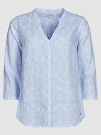 Lucia Blomstret Linbluse 7237958_EOP-JEANPAULFEMME-H19-front_85323_Luciafloral Linen Blouse_Lucia Blomstret Linbluse EOP.jpg_Front||Front