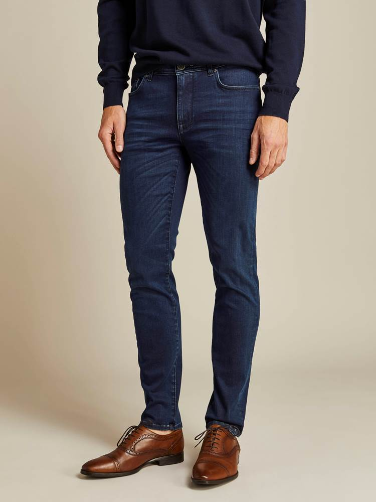Alain Deep Blue Hyper Stretch Jeans