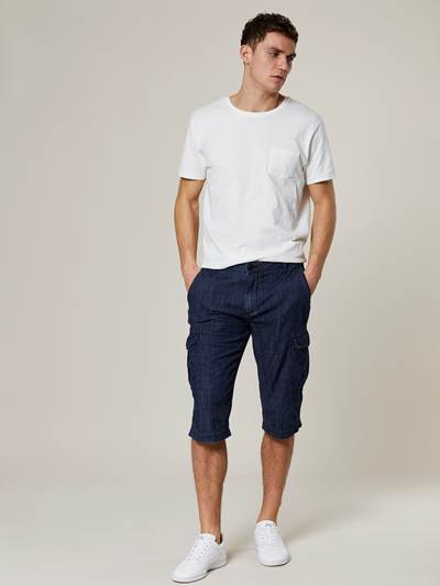 Lucas Cargo Denim Shorts D03