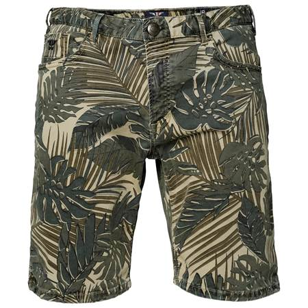 Jungle Stretch Bermuda Shorts