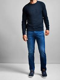 Louis Collegegenser 7228498_JEAN PAUL_LOUIS SWEAT_FRONT_M_EM6_Louis Collegegenser EM6.jpg_Front||Front