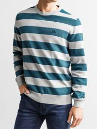 Gard Stripet Genser 7234223_JEAN PAUL_GARD TWO COLOURED STRIPE KNIT_FRONT1_L_ENK_Gard Stripet Genser ENK.jpg_