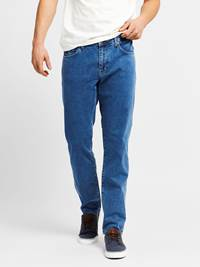 Leroy Blue Compact Stretch Jeans 7237661_JEAN PAUL_LEROY BLUE COMPACT STRETCH JEANS_FRONT_DAA_Leroy Blue Compact Stretch Jeans DAA.jpg_