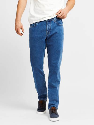 Leroy Blue Compact Stretch Jeans DAA