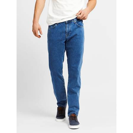 Leroy Blue Compact Stretch Jeans