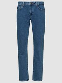 Leroy Blue Compact Stretch Jeans 7237661_DAA_JeanPaul_S19-front_Leroy Blue Compact Stretch_Leroy Blue Compact Stretch Jeans DAA.jpg_Front||Front