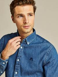 Denim Skjorte - Regular Fit 7238750_D05-JEANPAUL-A19-Modell-front_80363_Denim Skjorte - Regular Fit D05.jpg_Front||Front