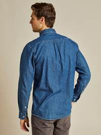 Denim Skjorte - Regular Fit 7238750_D05-JEANPAUL-A19-Modell-back_81310_Denim Skjorte - Regular Fit D05.jpg_Back||Back
