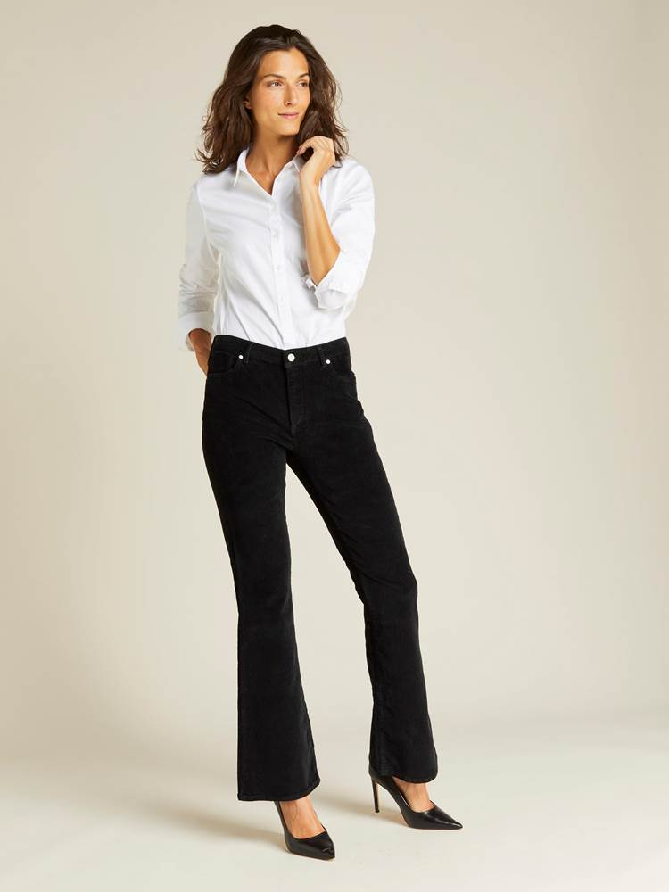 Sabine Cord Flare Pant 7239744_CAB-JEANPAULFEMME-A19-Modell-front_67132_Sabine Cord Flare Pant CAB.jpg_Front||Front