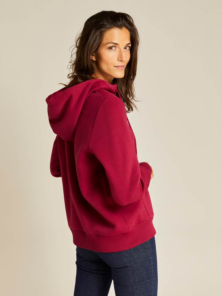 Kira Zip Hoodie 7238921_K6B-JEANPAULFEMME-A19-Modell-right_68629_Kira Zip Hoodie K6B.jpg_Right||Right