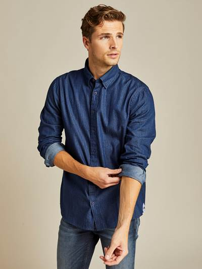Jourdain Indigo Skjorte - Regular Fit EGU