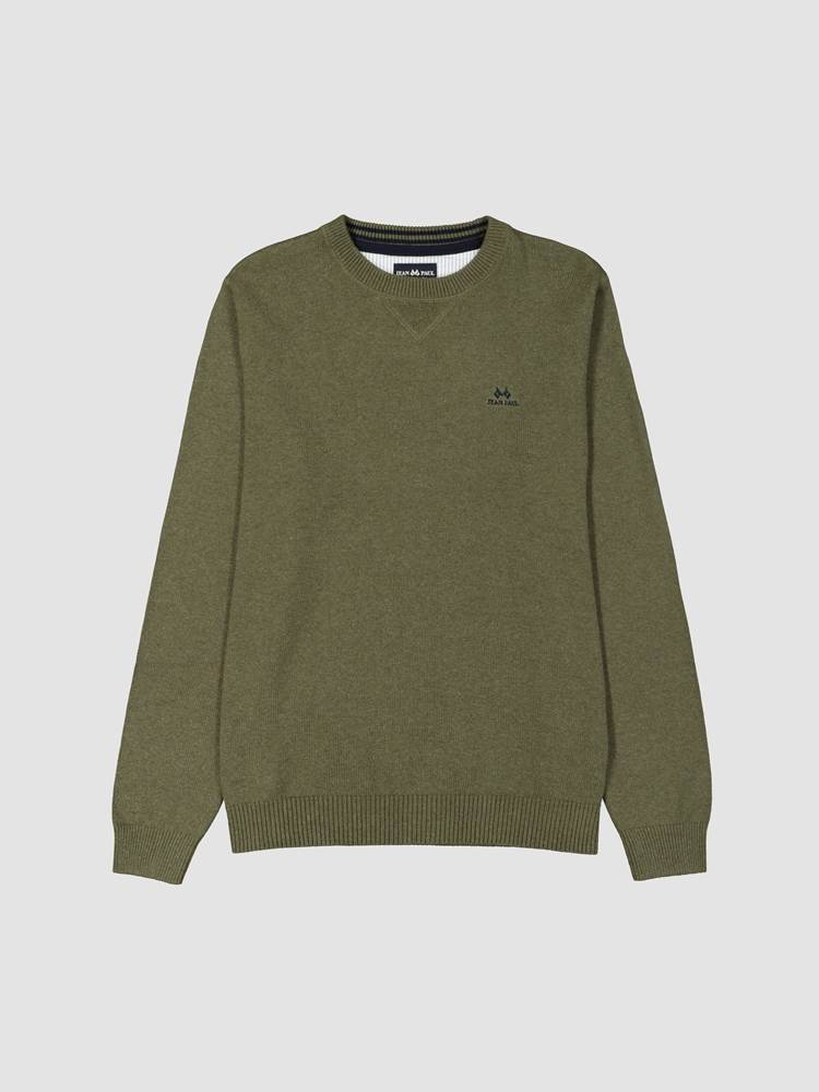 Antibes Genser 7241172_GPA-JEANPAUL-W19-front_66689_Antibes Genser GPA_Antibes Crewneck Knit.jpg_Front||Front