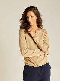 Agnes Cardigan 7238560_AFA-JEANPAULFEMME-A19-Modell-front_67060_Agnes Cardigan AFA.jpg_Front||Front