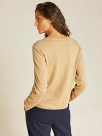 Agnes Cardigan 7238560_AFA-JEANPAULFEMME-A19-Modell-back_16356_Agnes Cardigan AFA.jpg_Back||Back