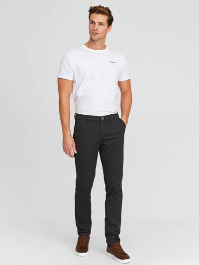 Brad Soft Melange Stretch Chino ID9