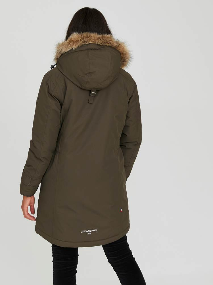 Carry Parkas 7244016_AIB-JEANPAULFEMME-A20-Modell-back_42217_Carry Parkas AIB.jpg_Back||Back