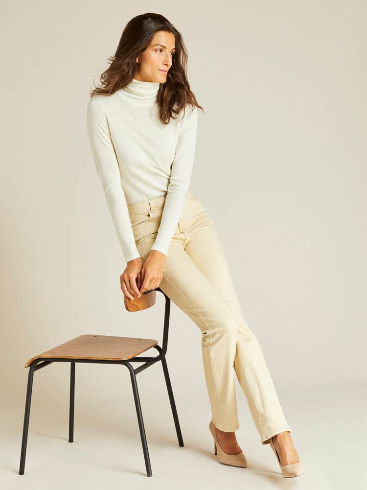Ine Highwaist Straight Pant 7239752_JEAN PAUL_A19_INE HIGHWAIST STRAIGHT PANT_FRONT_O0U_BRUN_Ine Highwaist Straight Pant O0U.jpg_
