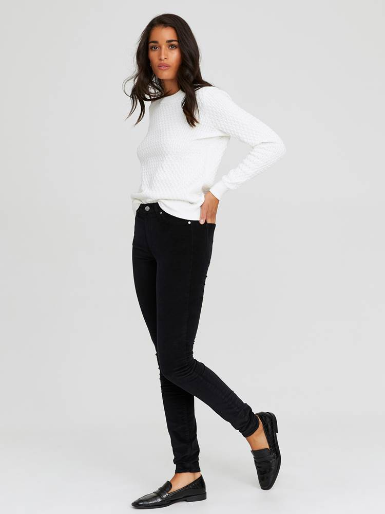 Sabine Cord Bukse 7244329_CAB-JEANPAULFEMME-A20-Modell-front_40158_Sabine Cord Bukse CAB.jpg_Front  Front