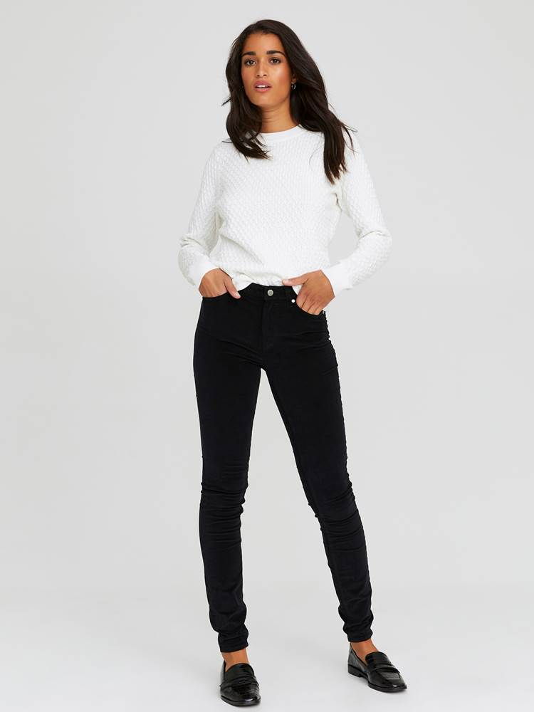 Sabine Cord Bukse 7244329_CAB-JEANPAULFEMME-A20-Modell-front_72935_Sabine Cord Bukse CAB.jpg_Front  Front