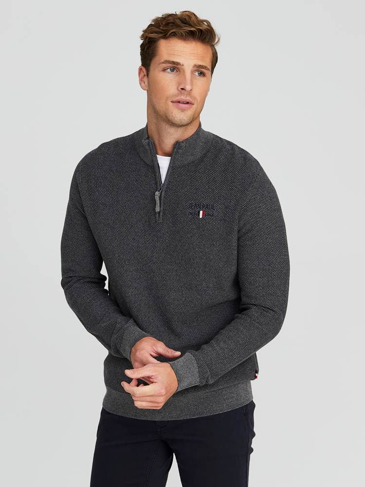 Dion Genser 7245079_IFH-JEANPAUL-W20-Modell-front_57801_Dion Knit IFH_Dion Genser IFH.jpg_Front||Front