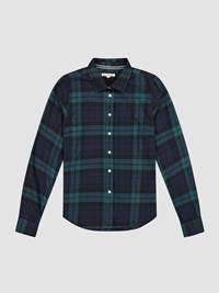 Mirelle Flanell Shirt 7240523_EM6-JEANPAULFEMME-W19-front_Mirelle Flanell Shirt_Mirelle Flanell Shirt EM6.jpg_Front||Front