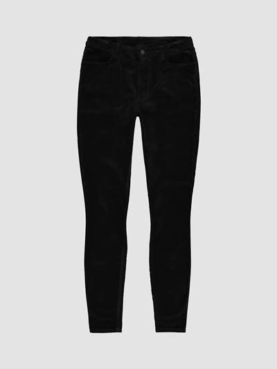 Ine Highwaist Velour Bukse C18
