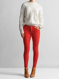 Sabine Color Cropped Jeans 7234152_JEAN PAUL_SABINE COLOR CROPPED PANT_FRONT_S_KBF_Sabine Color Cropped Jeans KBF.jpg_