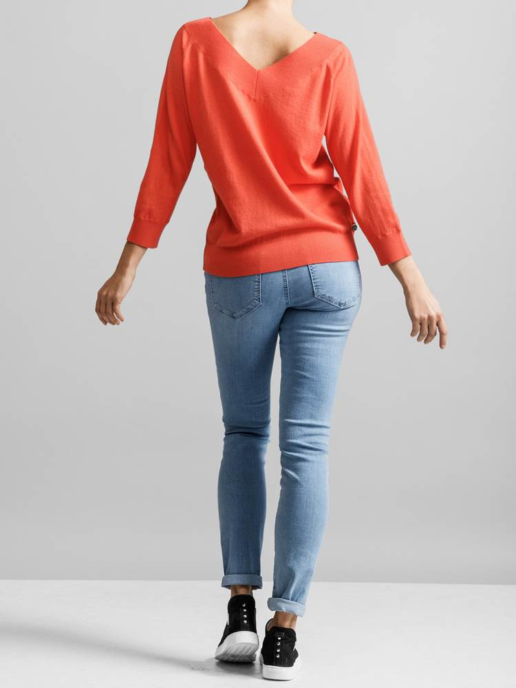 Holiday 2-way Genser 7230513_JEAN PAUL_HOLIDAY 2-WAY SWEATER_BACK3_S_K3U_Holiday 2-way Genser K3U.jpg_Back||Back