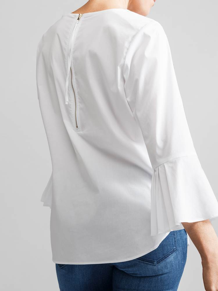 Patrice Stretch Bluse 7231586_JEAN PAUL_PEATRICE STRETCH BLOUSE_S_DETAIL_O68_Patrice Stretch Bluse O68.jpg_Back||Back