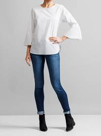 Patrice Stretch Bluse 7231586_JEAN PAUL_PEATRICE STRETCH BLOUSE_S_FRONT_O68_Patrice Stretch Bluse O68.jpg_Front||Front