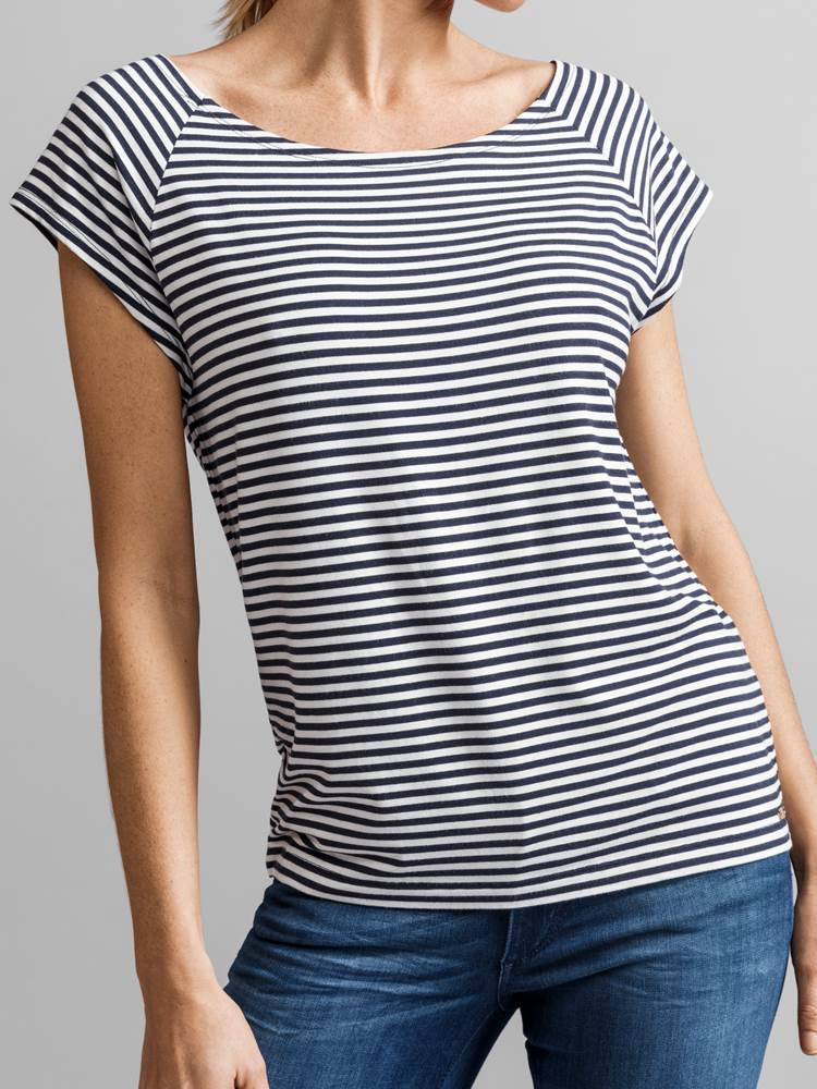 Triomphe Stripete Topp 7231526_JEAN PAUL_THRIOPMHE STRPIE TOP_FRONT1_M_EM6_Triomphe Stripete Topp EM6.jpg_Front||Front