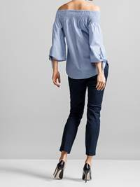 Michela Stripete Bluse 7231396_JEAN PAUL_MICHELA STRIPE BLOUSE_BACK_S_EHC_Michela Stripete Bluse EHC.jpg_Back||Back