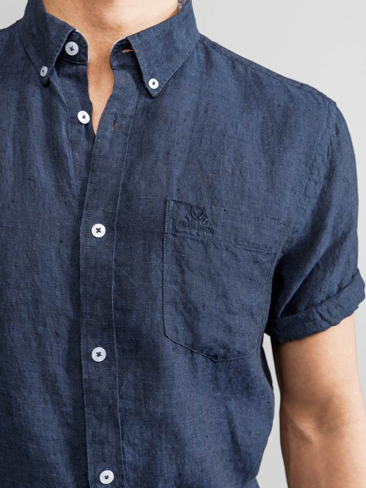 Dillon Lin Skjorte 7232976_JEAN PAUL_DILLON LINEN SHIRT_DETAIL_L_EM6_Dillon Lin Skjorte EM6.jpg_Right||Right
