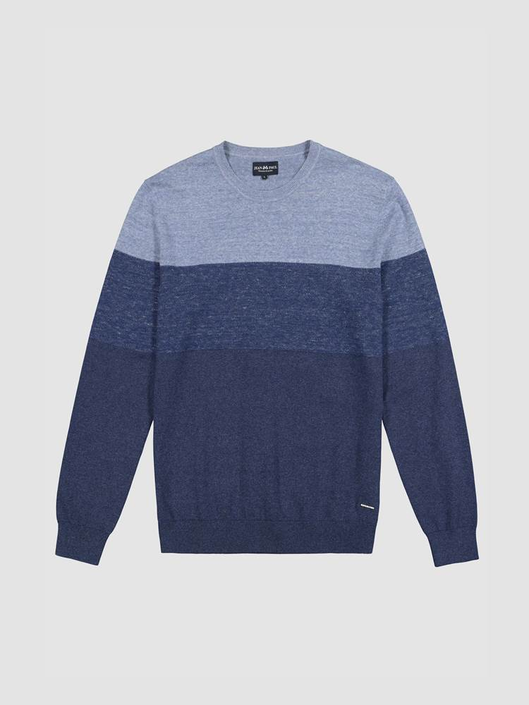 Georg Stripet Genser 7238845_ENB-JEANPAUL-A19-front_Georg Genser ENB_Georg Knit_Georg Stripet Genser ENB.jpg_Front||Front