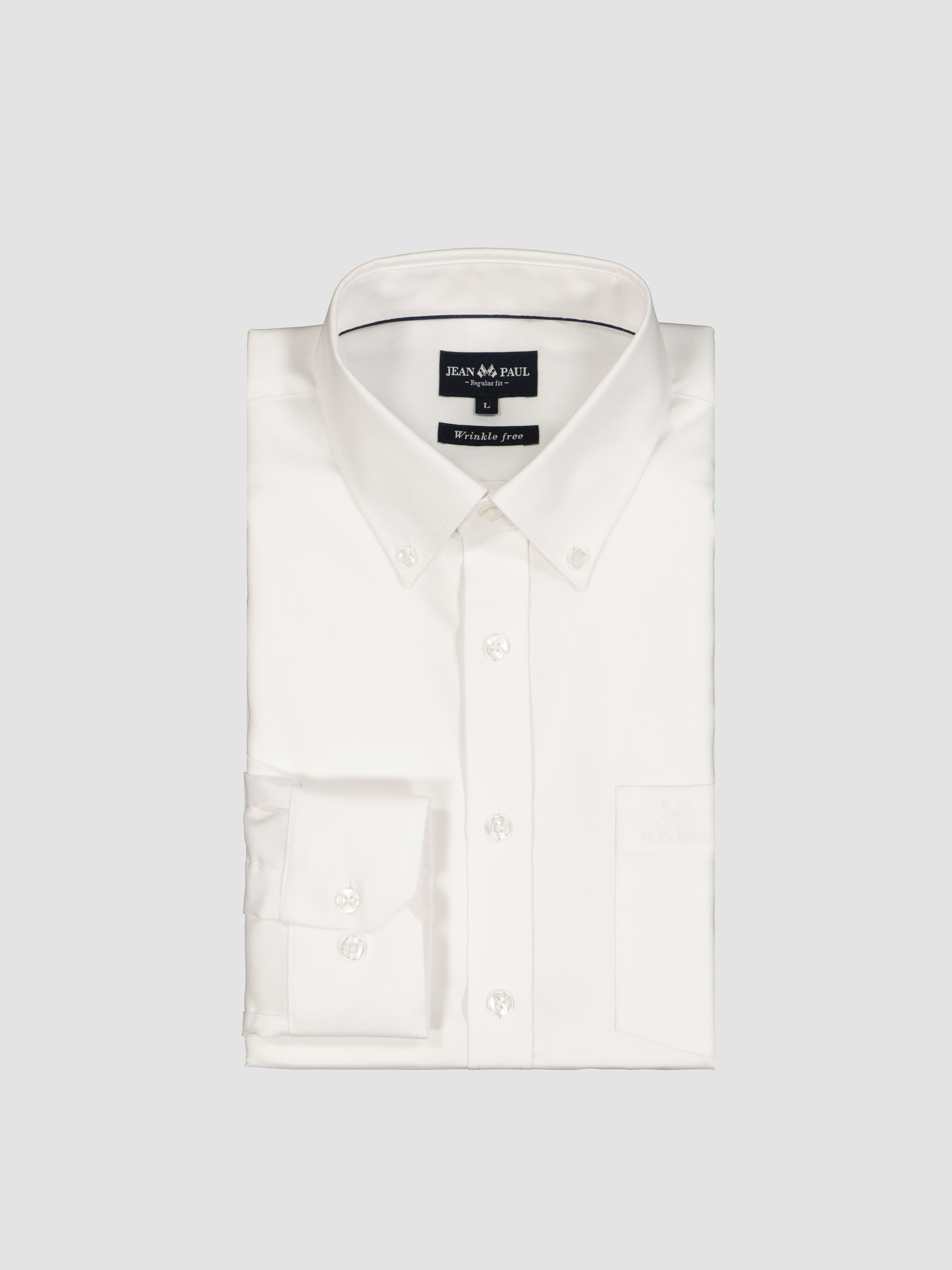Montparnasse Skjorte Regular Fit Bright White | Jean Paul