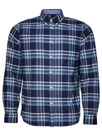 Check Skjorte - Regular Fit 7234095_EM6-JP52-A18-front_Promo Flannel Rutet Skjorte EM6_Promo Flannel Blue Check_Check Skjorte - Regular Fit EM6.jpg_