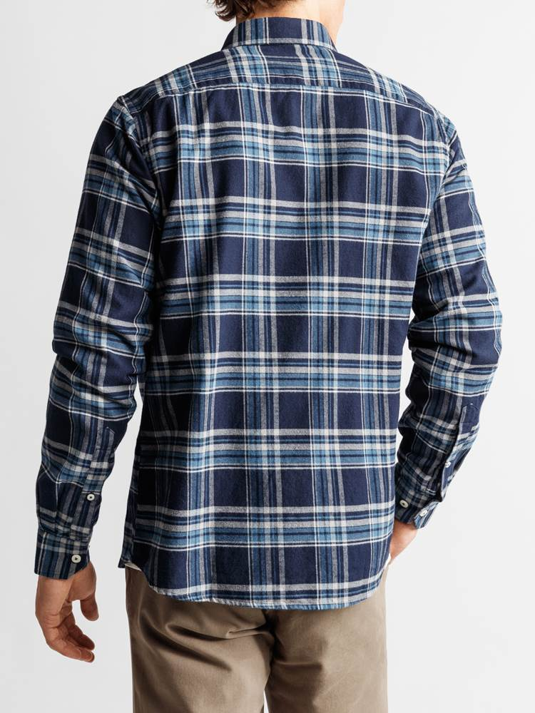Check Skjorte - Regular Fit 7234095_JP52_PROMO FLANELL CHECK_BACK_M_EM6_Promo Flannel Rutet Skjorte EM6_Check Skjorte - Regular Fit EM6.jpg_